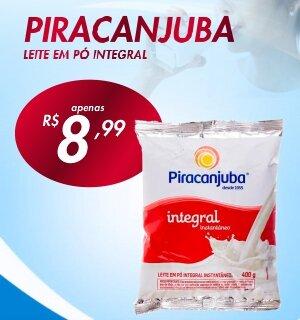 Leites em pó iintegral Piracanjuba